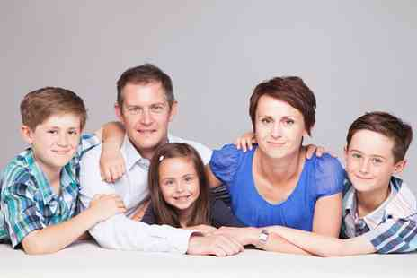 Photo Stoke - One Hour Family or Couple Photoshoot with Print  - Save 0%