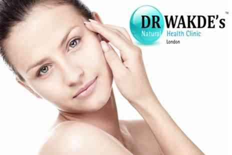 DR. WAKDE's Natural Health Clinic - One Hour Herbal Facial Therapy for £29  - Save 68%