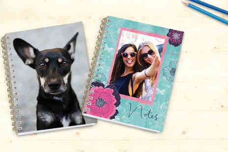 Snapfish - Personalised 150 page notebook - Save 83%
