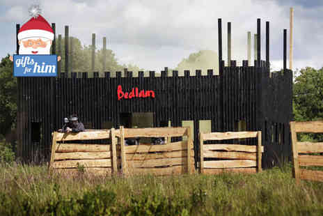 Bedlam Paintball - Day of paintballing for up to 10  - Save 89%