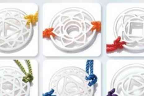 Love Shimmer - One Chakra Bracelets in Choice of Colours - Save 77%