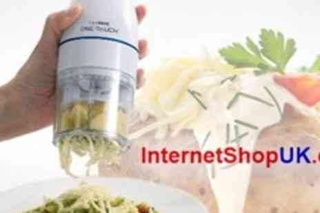 Internet Shop UK - Power Cheese Grater For Electric Culinare One Touch - Save 67%