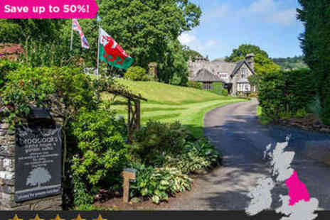 Broadoaks Country House - Overnight in Cumbrian Retreat for 2 plus Dinner - Save 50%