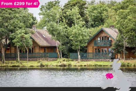 Lusty Beg - Four night Boa Island Cabin Stay for 6 in Fermanagh - Save 0%