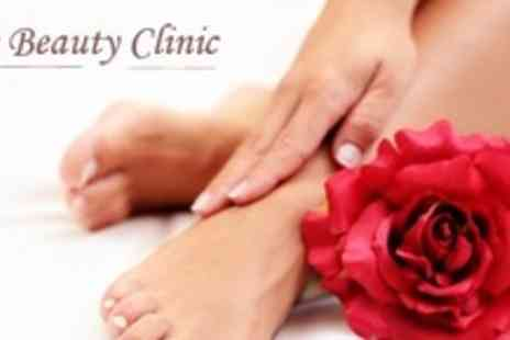 The Beauty Clinic - OPI Manicure and Pedicure - Save 63%