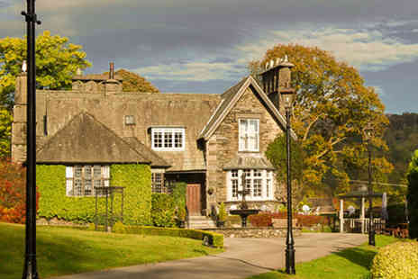 Broadoaks Country House - One night Windermere getaway for two  including four course dinner, cream tea and spa access - Save 46%