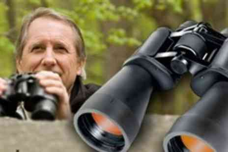 James Russell - Two Pairs of Super Powered Zoom Binoculars - Save 70%