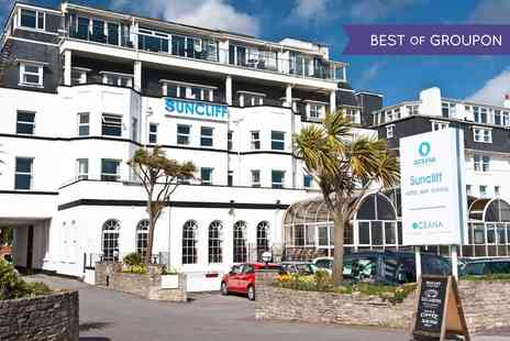 The Suncliff Hotel - One Night Stay For Two With Breakfast, Dinner, Prosecco and Spa Discount - Save 0%
