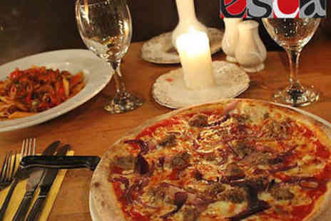 Esca - Pizza, Pasta, or Risotto Each for Two - Save 0%