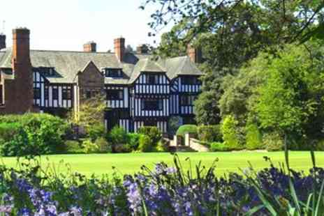 Inglewood Manor - Overnight Stay  in Deluxe Grade II Listed Chester with Dinner & Wine - Save 37%
