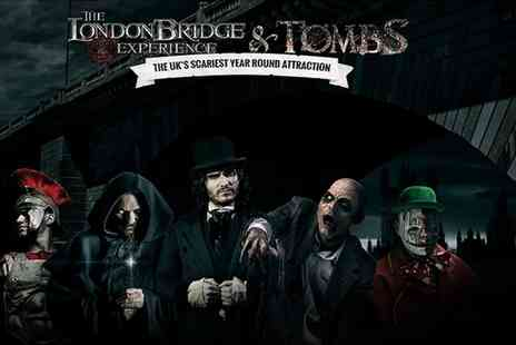 The London Experience and Tombs - Entry to the London Bridge Experience and Tombs - Save 33%