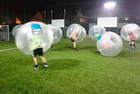 Zorb Wars - 90 Minute Bubble Football and Soft Drinks for Up to 12  - Save 41%