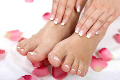 Nails by Jessica Rose - £12 for a mani and pedi plus an eyebrow wax and tint worth £40 - Save 70%