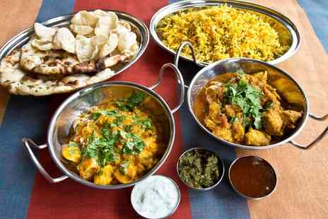Voujon - Two Course Indian Meal For Two  - Save 46%