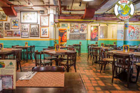 Cafe Pacifico - Mexican Street Food Experience for Two - Save 0%