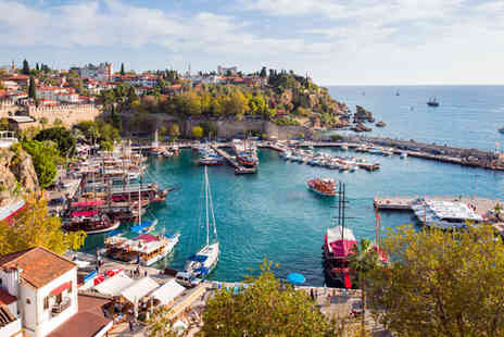 Blue Sea Holidays - Seven nights 5 star All Inclusive Turkey Break with Flights - Save 27%