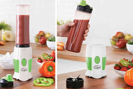 Hungry Bazaar - One touch personal blender and bottle - Save 50%