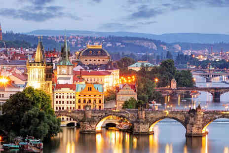 Worldwide Tours and Travel - Four Star Two or Three night Break in Prague Plus Flights - Save 0%