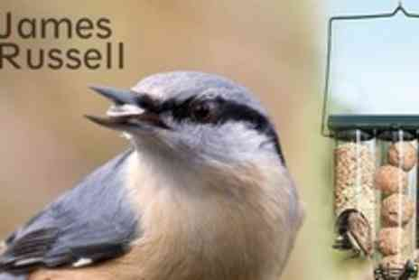 James Russell - One Triple Bird Feeders - Save 50%