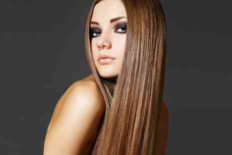 eclipz salon - Brazilian Blow Dry, Wash Out Formula or Straightening Treatment - Save 0%