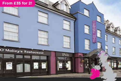 The Central Hotel  - One or Two Night Stay for Two plus Daily Full Irish Breakfast - Save 0%