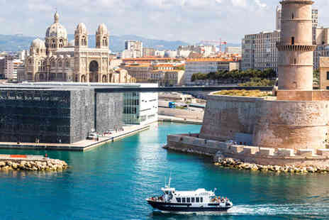 Worldwide Tours and Travel - Two or Three Night Marseille Break with Flights - Save 50%