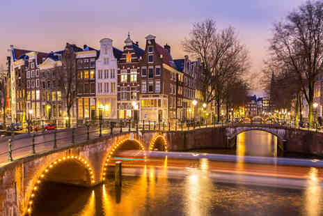 Worldwide Tours and Travel - Two or Three Nights Stay in Amsterdam with Flights - Save 32%