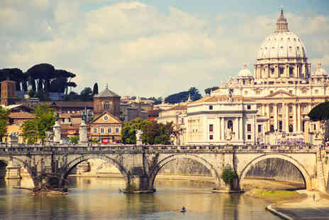 Worldwide Tours and Travel - Two or Three night Romantic Rome Break with Flights - Save 0%