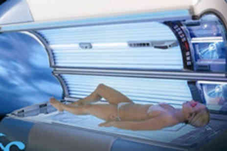 Savannah - Develop your perfect tan with two Hi Tech Sunbed - Save 64%