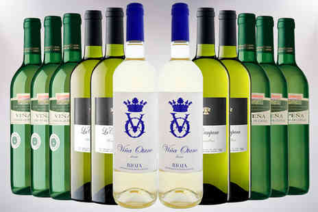 Global Deals - Case of 12 Spanish White Wines - Save 63%