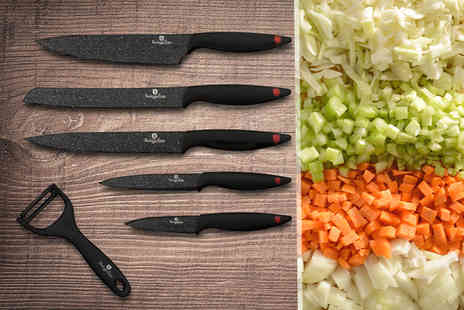 Product Shelf - Berlinger Haus six piece knife set - Save 59%