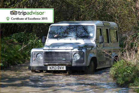 Experience The Country - Off road 4x4 driving experience for two - Save 59%
