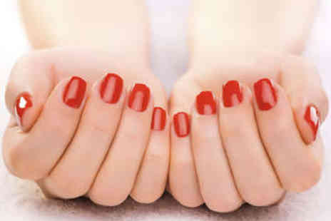 Trendz Hair and Beauty - Gel Manicure or Pedicure - Save 56%