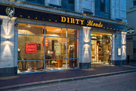 Dirty Blonde - Burgers or Hot Dogs for Two - Save 50%