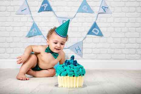Curtis Jenson Photography - Cake Smash Baby Photoshoot  - Save 0%