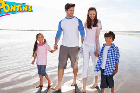 Pontins Holiday Park - Three and Four Nights Family Breaks   - Save 44%
