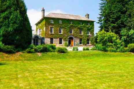 Hammet House - Two Night Welsh Manor Stay with Meals & Cream Tea - Save 46%