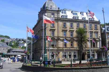 The Royal Hotel - One or Two nights stay for two  including a three course dinner, breakfast and late check out  - Save 34%