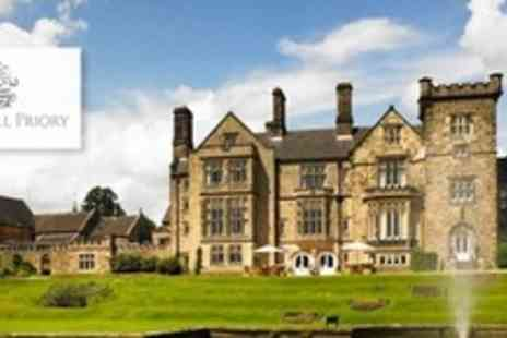Breadsall Priory - Full Day Luxury Leisure Club Experience For Two With Cakes and Coffee Plus Use of Facilities - Save 58%