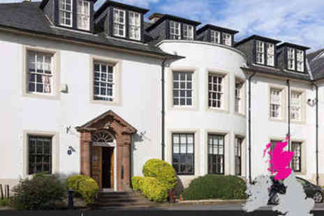 Hetland Hall Hotel - Overnight stay fro two with breakfast in Dumfries - Save 40%