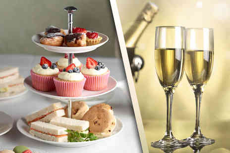 Cafe in the Crypt - Sparkling afternoon tea for two   - Save 55%