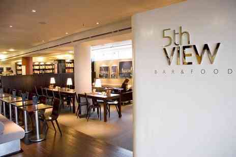 5th View - Two cocktails and a large sharing platter for two - Save 55%