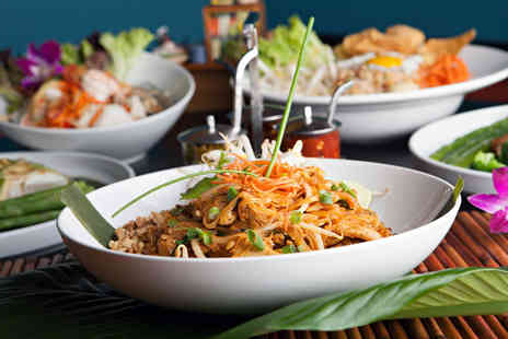 Bangkok Bar and Restaurant - Two course meal for two including a Bellini cocktail each  - Save 52%