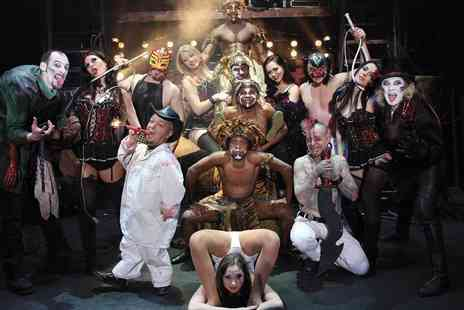 The Circus of Horrors - The Circus of Horrors Ticket on 7th Feb   - Save 50%
