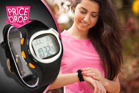 121 Mart - PULSE six in one sports watch with heart rate monitor - Save 84%