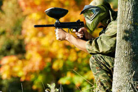 Horizon Paintball - Paintballing with Lunch for Five at 31 Locations - Save 91%