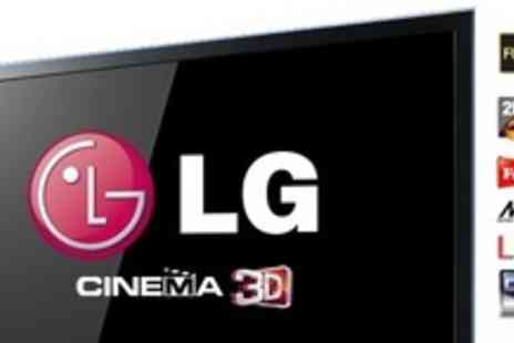 "PRC Direct - LG 55"" LED 3DTV With Seven Pairs of 3D Glasses And One Year Warranty - Save 44%"