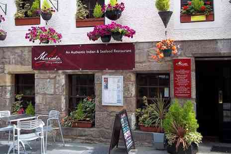 Maisha Restaurant - Indian Meal with a Bottle of Wine for Two  - Save 44%