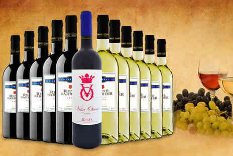 Global Deals - 12 Bottle Spanish Rene Barbier Mix - Save 63%