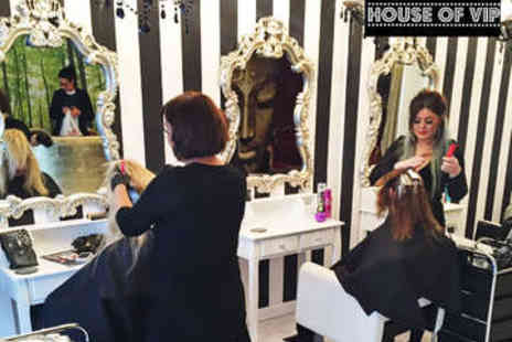 House of VIP - Haircut, Blow Dry, and Conditioning Treatment - Save 54%